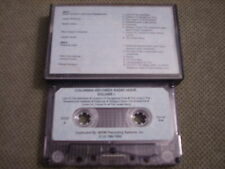 RARE PROMO Columbia Records Radio Hour CASSETTE TAPE Lou Reed ROB WASSERMAN Cash