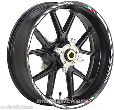 "YAMAHA XMAX 14""-15"" - Adesivi Cerchi – Kit ruote modello racing tricolore"