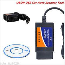 2016 ELM327 USB Interface OBD2 Connector V1.5 Auto Scanner Code Reader Chip Car
