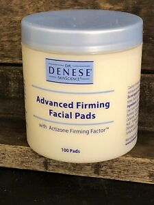 Dr. Denese Advanced Firming Facial Pads 100 Count NEW SEALED