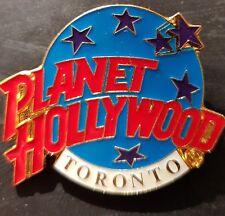 Planet Hollywood Pin / Badge Toronto Classic Light Blue Globe Logo