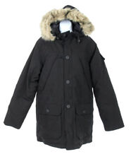 NEW J Crew Penfield Hoosac Jacket Black Parka Winter Coat S Style B1821