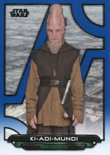 Star Wars Galactic Files Reborn Blue Parallel Base Card TPM-19 Ki-Adi-Mundi