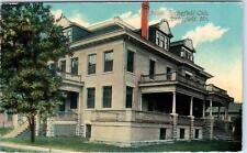 SPRINGFIELD, MO Missouri    SPRINGFIELD CLUB Building  c1910s   Postcard