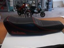 SELLA SEDILE VESPA PX  CAMEL POLE POSITION  BIPOSTO  *pesolemotors**
