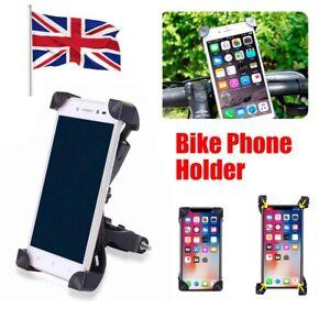 Bicycle Phone Holder Bracket Bike Handlebar Mount for Mobile Phone 3.5-7 inch UK