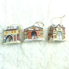3 M I Hummel Bavarian Village Ceramic Ornament Geese Scholarly Practice Perf