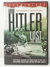 HOW HITLER LOST THE WAR DVD DOCUMENTARY The Hoffman Collection