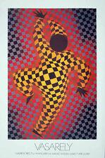 VICTOR VASARELY  - sehr selten - 1987 - Ausstellungsplakat