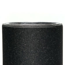 Frosted Glitter Vinyl Wrap BLACK 1520x300mm // Adhesive Bubble/Air Free Sanded