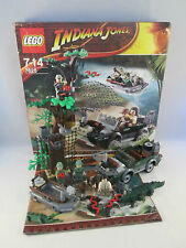 Lego Indiana Jones - 7625 River Chase - Kingdom of the Crystal Skull