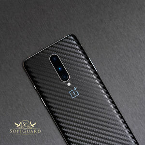 SopiGuard 3M Avery Oracal Carbon Fiber Skin Back Only for Oneplus 8