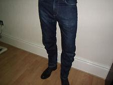 River Island Jeans de guerrilla envejecido apenas usado. 34 de pulgada.