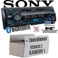 Sony Car Radio for Renault Kangoo 1 DAB Bluetooth/MP3/USB Installation Kit