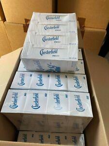 1000 4x250 Chesterfield BLUE empty cigarette tubes filters PHILIP MORRIS