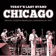 CHICAGO New Sealed 2018 FINAL 1977 CONCERT w TERRY KATH 2 CD SET