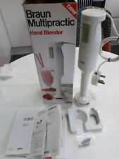 Braun Multipractic Hand Blender MR 300 In Box With Wall Bracket and Instructions