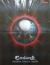 In Flames/Enslaved __ 1 POSTER/MANIFESTO __ Colony _ Axioma Ethica Odini