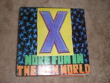 X LP More Fun In The New World PROMO
