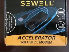 "SEWELL ""ACCELERATOR"" - New - 56K USB 2.0 Modem"