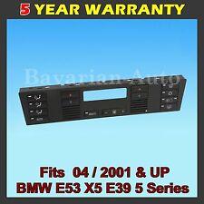 BMW E39 E53 525i 530i 540i M5 X5 Replacement Climate A/C Control Panel Buttons