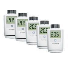 Homematic IP 5er Set Heizkörperthermostat HMIP-eTRV-2 für Smart Home / Hausautom
