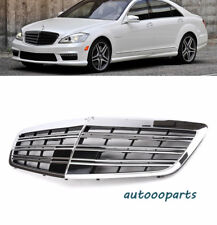 For 08-13 Mercedes Benz MB S550 s600 s350 W221 Front Hood Grille S63 S65 Style