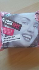 Soap and Glory OFF YOUR FACE 3-in-1 Purifying Cleansing Cloths 25 Facial Wipes