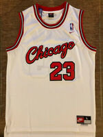 BRAND NEW Michael Jordan 1984 #23 Chicago Bulls White Men's Basketball Jersey