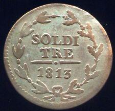 Suisse Tessin 3 Soldi 1813 KM 2