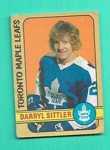 (1) DARRYL SITTLER 1972-73 O-PEE-CHEE # 188 LEAFS GOOD CARD (V1171)