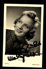 Mady Rahl Ross Verlag Autogrammkarte Original Signiert ## BC 65682