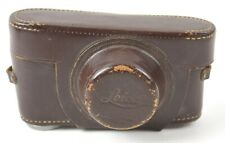 Leica Vintage Brown Leather Camera Case