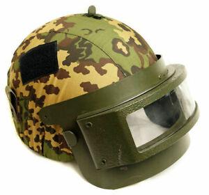 K6-3 Russian Spetsnaz Special Forces Helmet Cover Partizan Camo Partisan