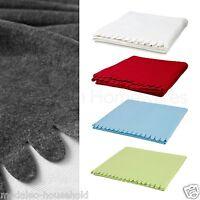 IKEA Polarvide Fleece Throw Blanket Snuggly Soft 130x170cm Winter Home Cold-B789