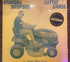 Sturghill Simpson - Cuttin Grass - Indie Green / Yellow 2 LP Vinyl-New -Sold Out