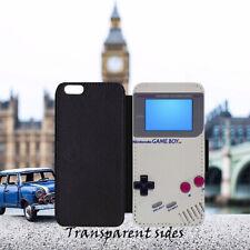 Retro Gadget Nintendo Game Boy De Cuero Abatible Billetera Teléfono Estuche