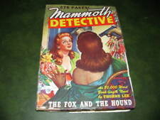 Mammoth Detective August 1944 Original Pulp Magazine Excellent conditon