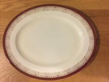 Royal Grafton Majestic Red Oval Platter
