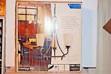 Progress Lighting Cantata Forged Bronze 3 Light Chandelier P4005-77 NEW IN BOX