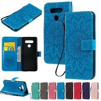 Sunflowers Wallet Leather Flip Case Cover For LG Q60 K40 K50 K51 G8 Stylo 6 K40S