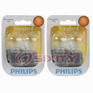 2 pc Philips Tail Light Bulbs for Nissan Altima Armada Frontier NV1500 NV200 us