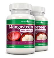 Mangosteen Superaliment Santé Fruit 500mg Puissant 120 Gélules