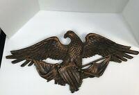 VINTAGE 1959 DART IND.3867 USA SYROCO MOLDED PLASTIC EAGLE WALL HANGING