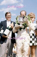 DENIS HULME McLAREN m8d WINNER Watkins Glen può AM 1970 fotografia 2