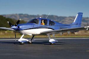 E-Flite EFL5950 Cirrus SR22T 1.5m BNF Basic Airplane rare