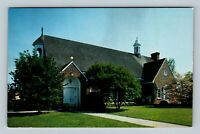 Williamsburg VA, St Bede's Catholic Church, Chrome Virginia Postcard