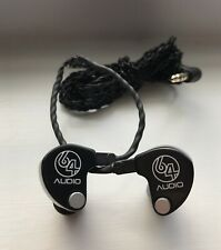 64 AUDIO ADEL U2  UNIVERSAL INEARS EARPHONES WITH CABLE MODUELS & EARTIPS