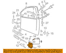 VW VOLKSWAGEN OEM 99-05 Jetta Front Door-Lock Latch Kit 3B1837015AS