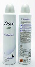 3 x Pack of Dove Invisible Womens Dry Anti-Perspirant Spray - 250ml *MULTIBUY*